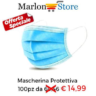 Mascherina Protettiva di sicurezza traspirante usa e getta con filtro di 3 Strati per bocca Viso