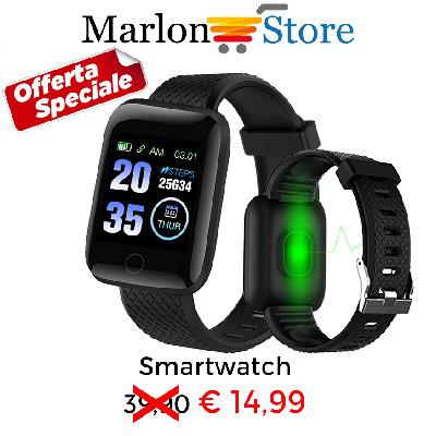 Offerta smartwatch a soli € 14,99